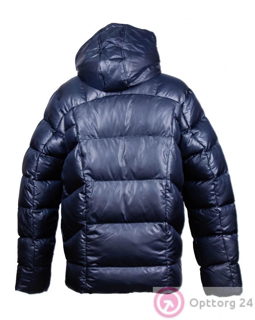 b29d6636 Куртка мужская зимняя на двойном синтепоне темно-синяя - купить в ...