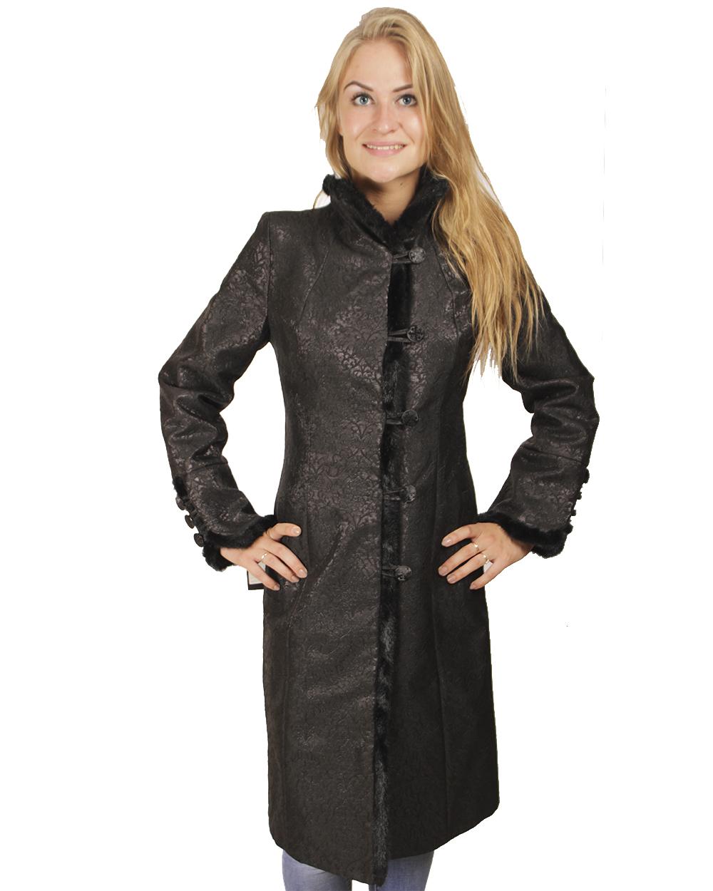 Пальто приталенное женское