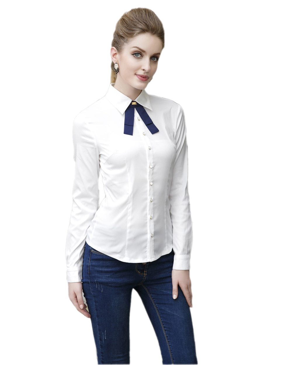 Блузка С Галстуком Женская Доставка