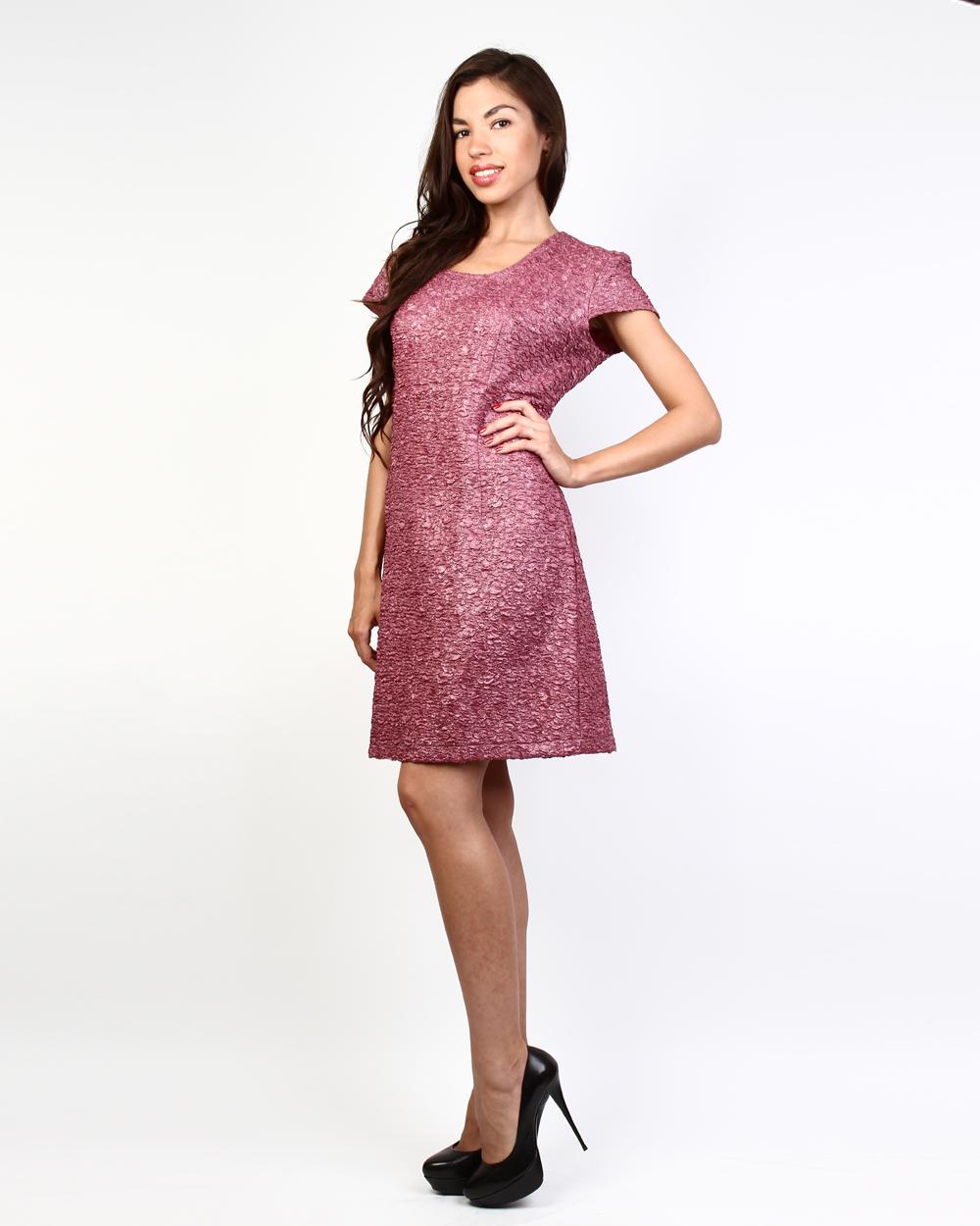 Платье из жатой ткани купить