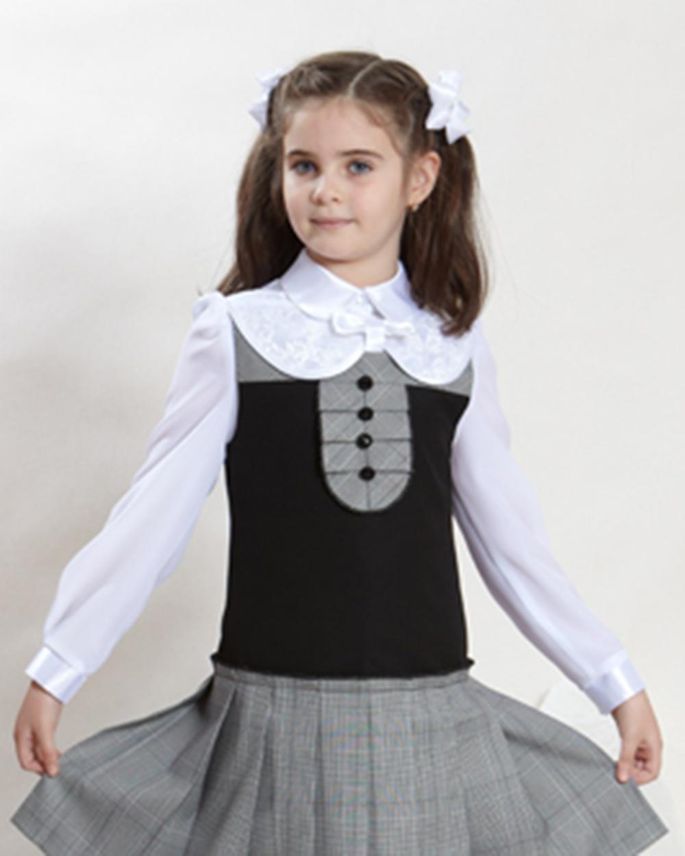 Школьные Блузки Для Девочек Фото В Омске