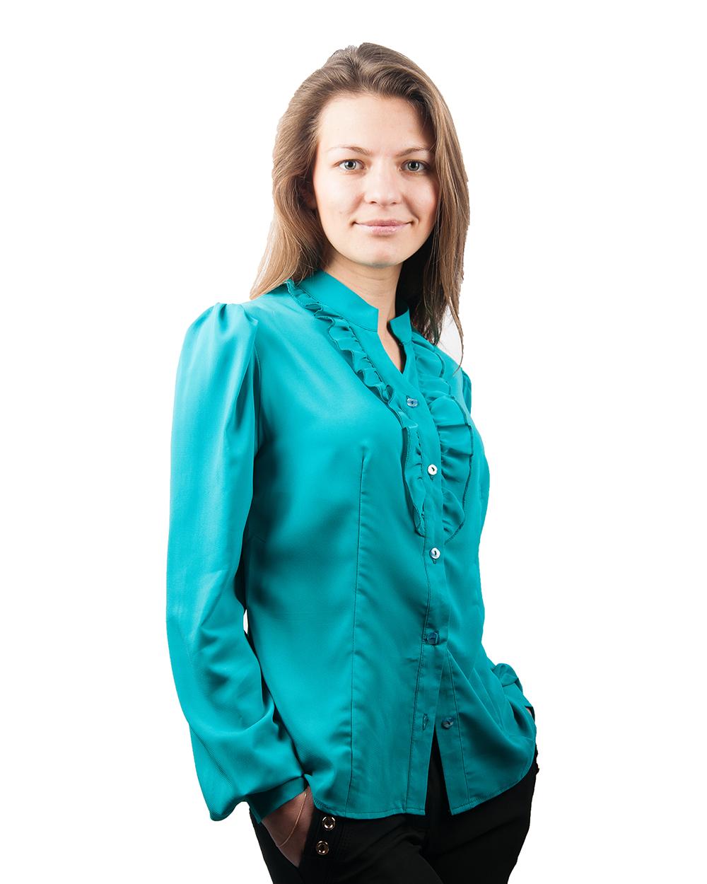 Бирюзовую Блузку Купить В Москве