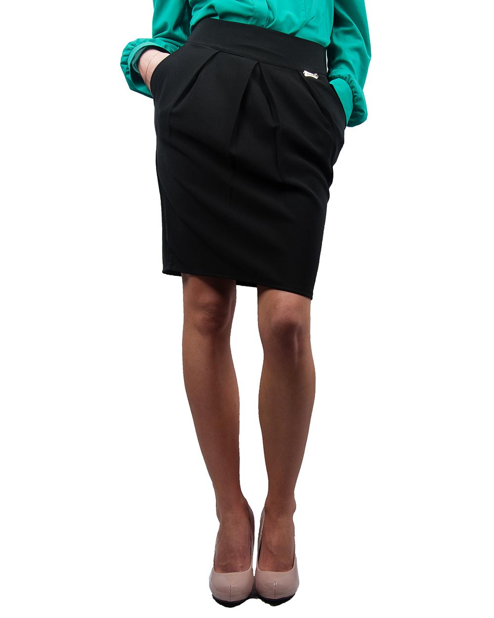 Фото юбки с защипами