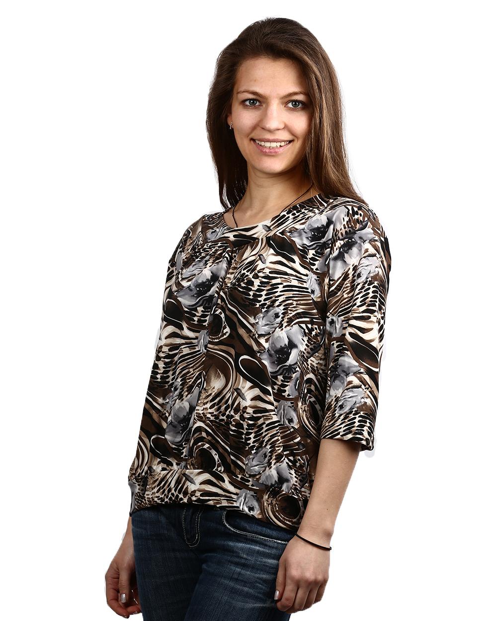 Блузки коричневого цвета 3