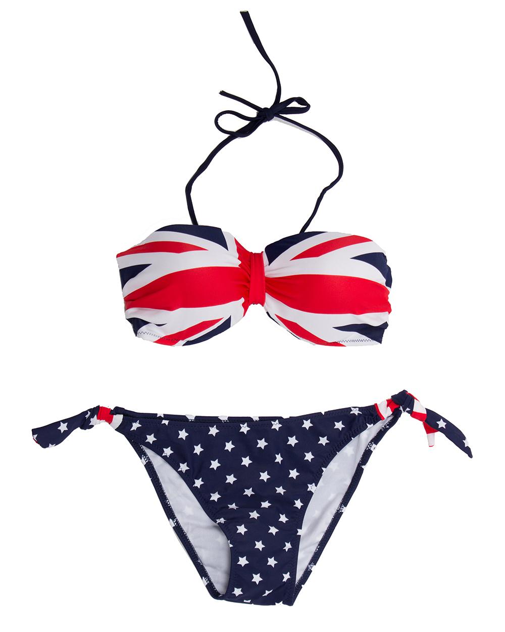 Купальник С Британским Флагом