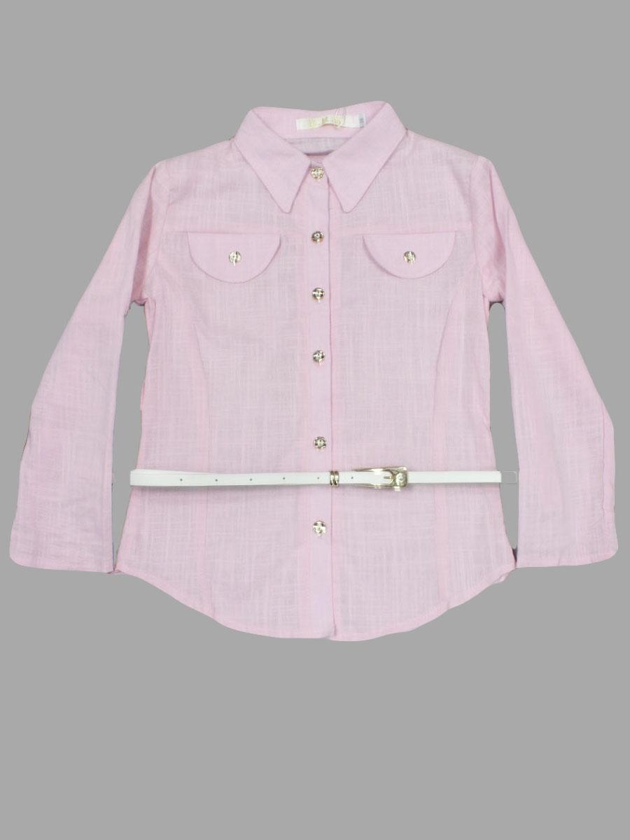 Купить Розовую Школьную Блузку