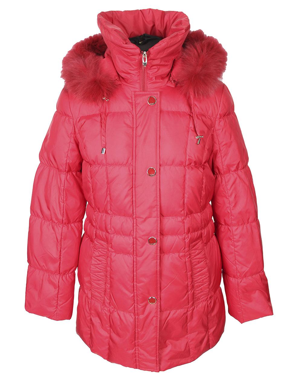 Зимняя женская одежда с мехом