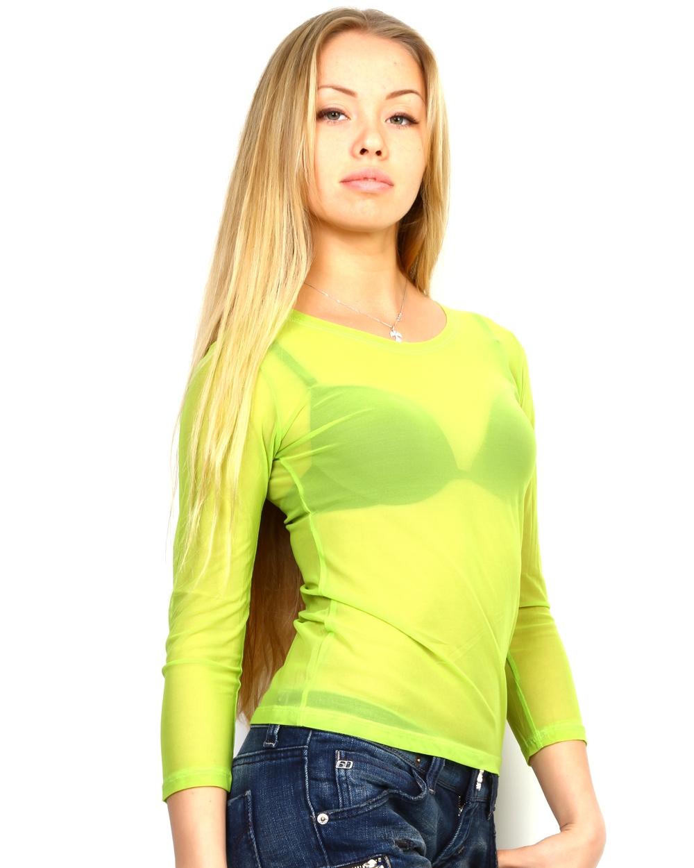 Секретарша в зеленом свитере 6 фотография