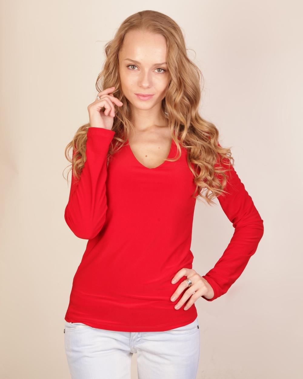 Блузка Красного Цвета В Уфе