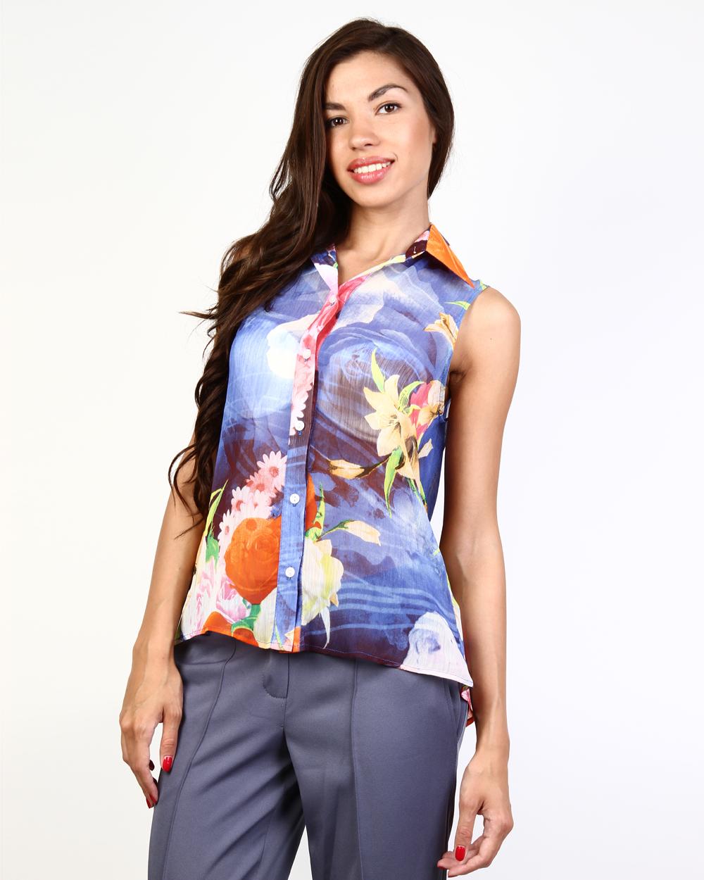 Цветные блузки фото 8